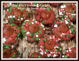 christmas cookies using hershey kisses new year info 2018