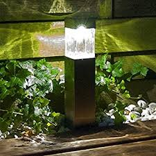 Solar Lights For Backyard Amazon Com Malibu 6 Pack Pathway Lights Solar Led Landscape