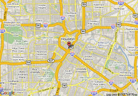 houston map convention center map of inn express houston downtown convention center houston