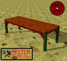 Wood Furniture Plans Free Download by Simple Outdoor Table Plans Free Download Outdoor Wood Patio