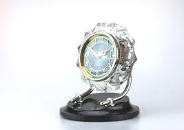 majak crystal case watch mechanical watch vintage mantel clock