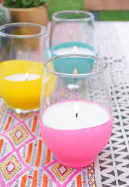 candle balloon diy balloon dipped citronella candles sugar cloth entertaining