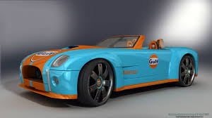 gulf racing wallpaper concept cobra 1 gulf by rjamp on deviantart
