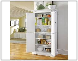 white kitchen pantry cabinet