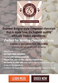 how to mold chocolate candy chocoley com