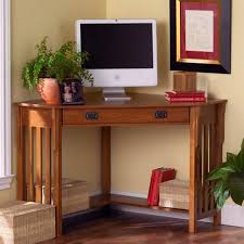 mission oak corner computer desk southern enterprises mission oak corner computer desk walmart com