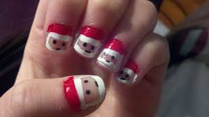 christmas nail art tutorial video