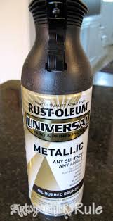 many uses for rustoleum oil rubbed bronze orb spray paint oil
