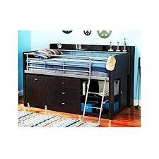 Turquoise Bedroom Furniture Amazon Com Twin Loft Bed W Desk Kids Bedroom Furniture Set
