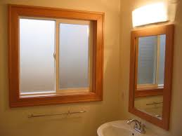 window for bathroom