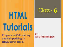 Table Cell Spacing Differences Between Cellspacing And Cellpadding In Html