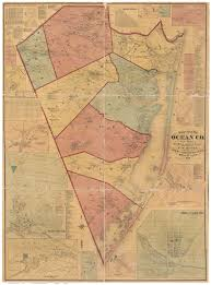 County Map Of Nj New Jersey County Maps