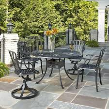 home styles largo 48 in 5 piece outdoor patio dining set 5560