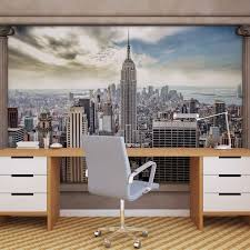 new york city view pillars photo wallpaper mural 2812wm city new york city view pillars photo wallpaper mural 2812wm