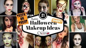 21 realistic halloween makeup ideas cherrycherrybeauty