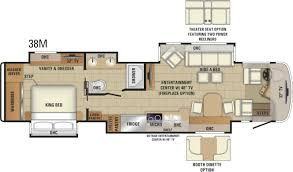 Micro Floor Plans by 2018 Aspire Luxury Class A Mortorhome Entegra Coach