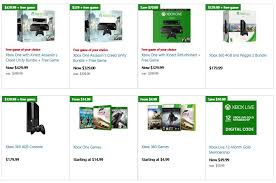 xbox one prices on black friday microsoft store black friday deals are now live xbox one