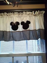 Mini Mouse Curtains by Mickey And Minnie Mouse Curtain Valance By Betsysbabyboutique19