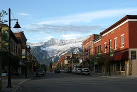 downtown fernie view of the first snowfall in october fernie fix