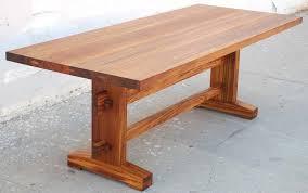 teak trestle dining table impressive retro teak pedestal table new home design teak pedestal