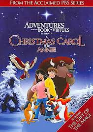 adventures from the book of virtues a carol for