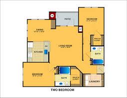 orchard bridge apartments in manassas va two bedroom floor plan