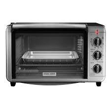 Six Slice Toaster Shop Black Decker 6 Slice Black Convection Toaster Oven At Lowes Com