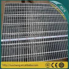 Floor Grates by Guangzhou Heavy Duty Steel Floor Grating Tread Step Plate Grating