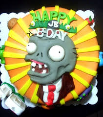 Plants Vs Zombies Cake Decorations Plants Vs Zombies Cake Ryan U0027s 5th Birthday Party Ideas
