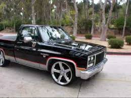 videos de camionetas modificadas newhairstylesformen2014 com 1982 chevy c10 shortbed silverado modified 350v8 24 in irocs by mg