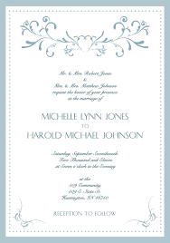 Wedding Invitation Cards Font Styles Card Invitation Samples Wedding Card Invitation Classic Design