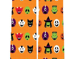 halloween socks etsy