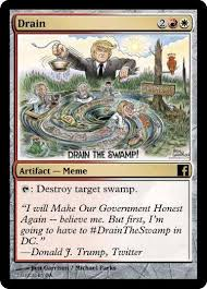 Magic Card Meme - political mtg cards home facebook