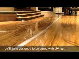 wood floor commercial recoat uvelite instant cure finish