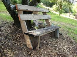 Building Wooden Garden Bench by How To Build Simple Garden Benches For Free Flea Market Gardening