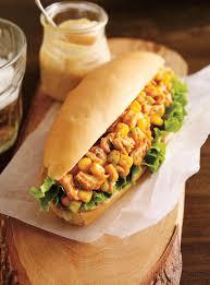 recette de cuisine poulet sandwich au poulet barbecue ricardo