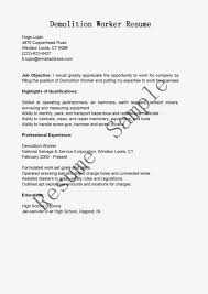 example work resume sample job resume with no experience best of