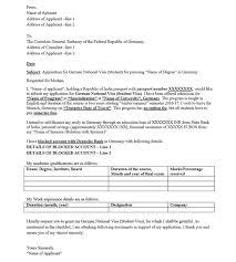 german letter format format