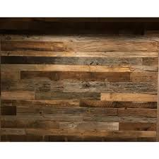 Home Depot Decorative Wall Panels 3 8 In X 10 59 Ft X 10 59 Ft Brown Grey Barnwood Planks