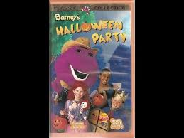 Opening Closing To Barney U0026 by Opening U0026 Closing To Barney U0027s Halloween Party 1999 Vhs Youtube