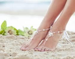 Wedding Shoes Kl Bridal Beach Shoes Foot Jewelry Beach Wedding Barefoot