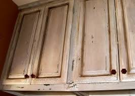 Distressed Worn Looking Kitchen Cabinet Designs - Antiqued kitchen cabinets
