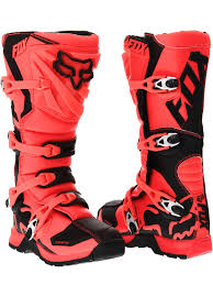 women s fox motocross gear fox orange 2017 comp 5 mx boot fox freestylextreme america