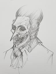 a rough sketch of an esquire darkestdungeon