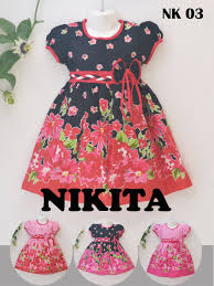 dress anak baju anak2 bahan katun jepang twill nk 03 di www khasanahgrosir