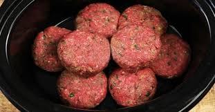 cuisiner un hamburger quoi un hamburger steak dans ma mijoteuse jamais je n aurais