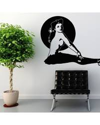pin up girl home decor surprise 20 off pin up girl ballerina modern and retro wall