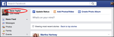 fb update how do i delete a status update on facebook ask dave taylor