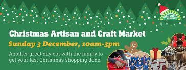 pre christmas themed artisan and craft market