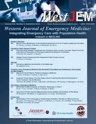 volume 17 issue 5 by western journal of emergency medicine issuu